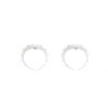 Par de candongas plateadas, versión pequeña de nuestras candongas insignia Crescent hoops, una pieza icónica para todos los días.Parte de la Colección No.4 de Aysha Bilgrami Joyeria